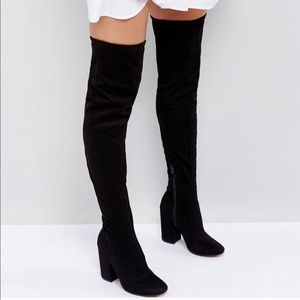 🆕️ Over the knee suede boots